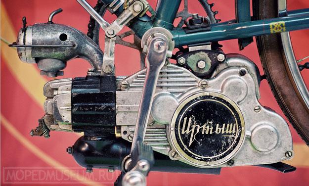 Вспомогательный велодвигатель Иртыш (1954-1955)