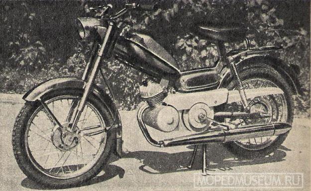 Мопед «Селена» (1971)