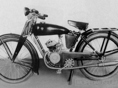 Мотовелосипед «Стрела» (1936-1937)