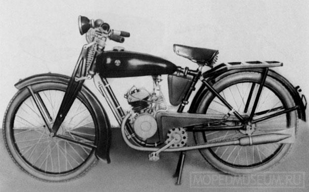 Мотовелосипед Стрела (1936-1937)