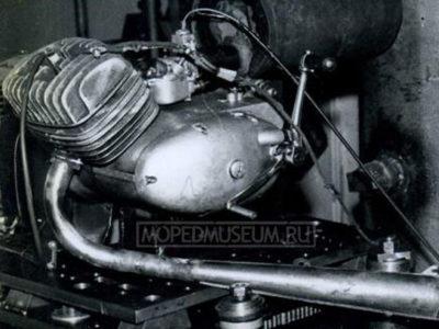 Двигатель Š-54-A
