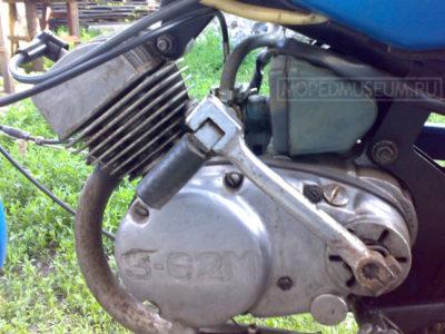 Двигатель Š-62M (1984-1986)