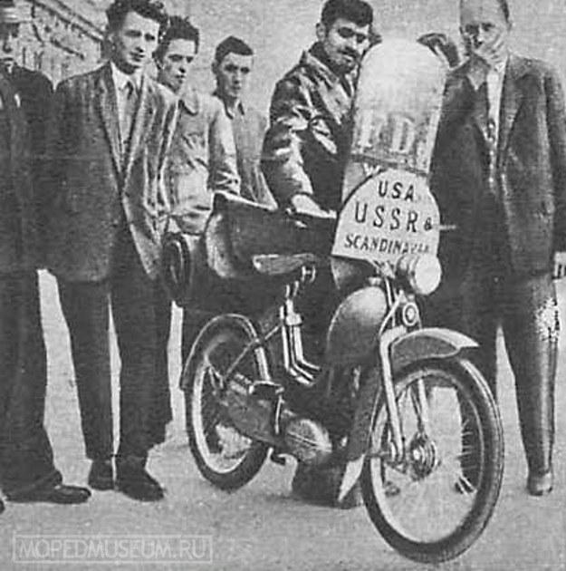 На мотоцикле вокруг света