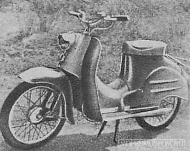 Микролитражный мотороллер Симсон-50