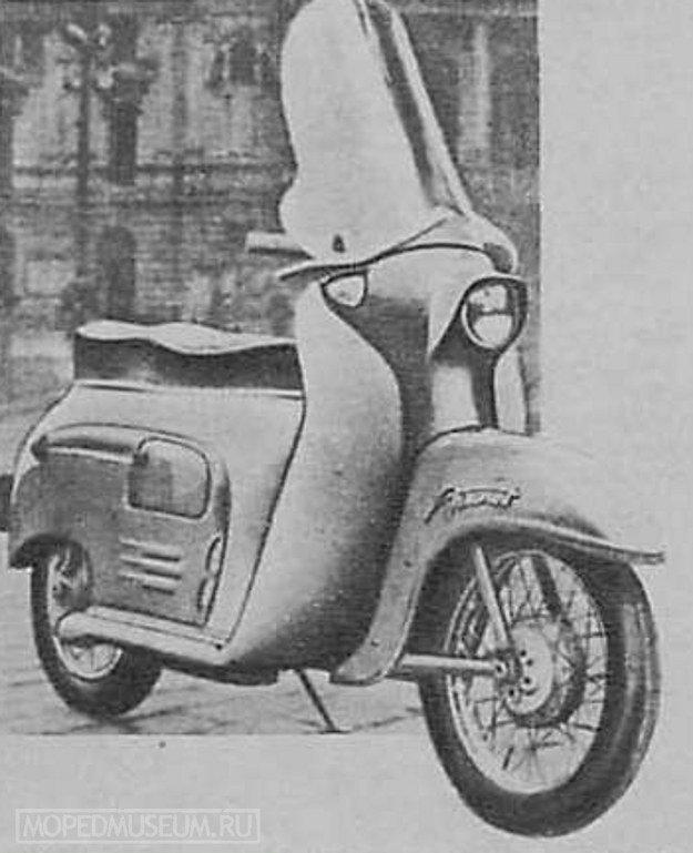 Чехословацкий мотороллер Манет-100