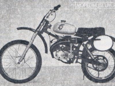 Кроссовый микромотоцикл «Рига-20-Юниор» (1984)