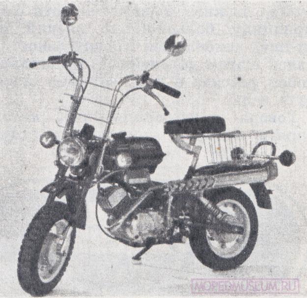 Мини-мокик Мини-Люкс РМЗ-2.130Л (1985-1990)
