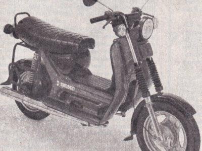 Мотороллер SR50 (1984-…)
