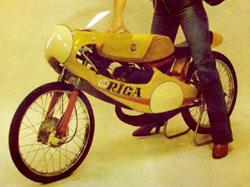 Шоссейно-кольцевой микромотоцикл «Рига-19С» (1979)