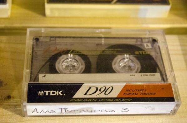 Магнитофонная кассета. Фото Дмитрия Миртича