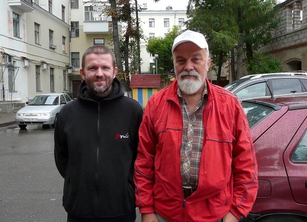 Иван Ксенофонтов в Витебске