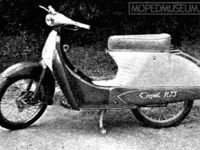 Мотороллер R75 «Panni» (1958)