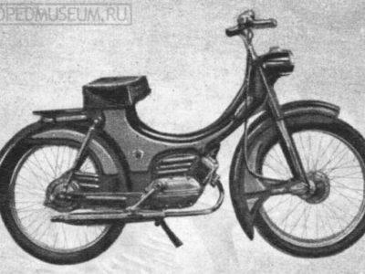 Мопед «Berva» прототип (1957)