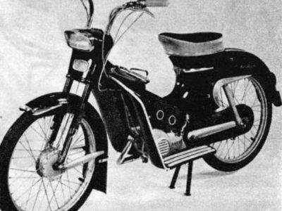 Мотороллер «Panni» прототип (1957)