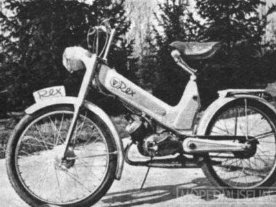 Мопед «Rex» прототип (1957)