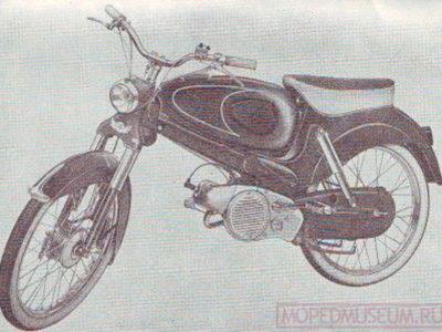 Мопед «Colibri» VS50S (1955-1956)