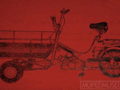 Мопед грузовой typ 750