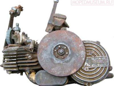 Вспомогательный велодвигатель «Dongo» (1955-1957)