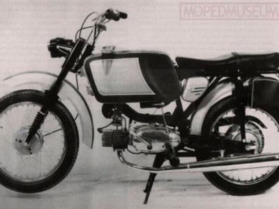 Микромотоцикл Italjet 50 «Mustang»