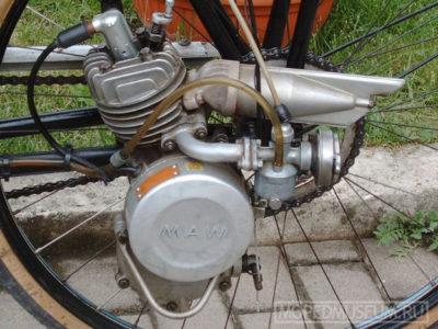 Вспомогательный велодвигатель «M.A.W.» (1954-1956)