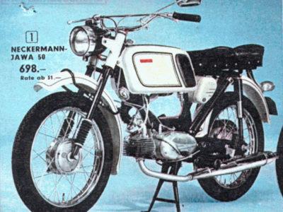 Мокик «Jawa 50» (Neckermann) (1969-1971)