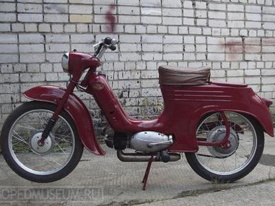Мокик Jawa-50, typ 555 «Pionyr» (1958-1963)