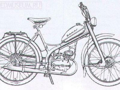 Мопед «Komar» MR 231 (1962-1963)