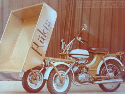 Грузовой трицикл-самосвал «Rukis»