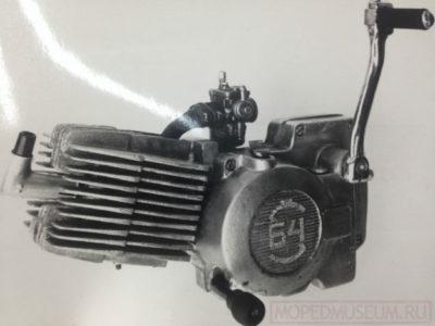 Двигатель Š-64