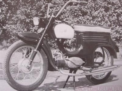 Yezdi 50 Prototip