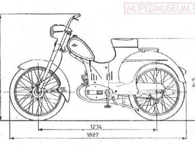 Мопед «Rys» Mr1 (1958-1963)