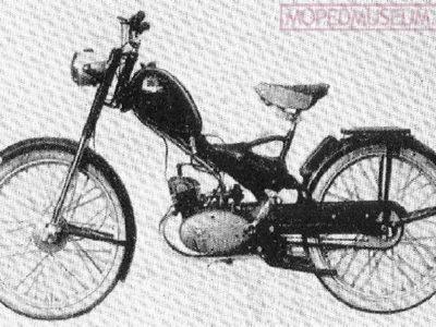 Мопед «Zak» Mr2 прототип №2 (1958)