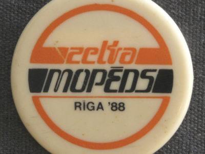Zelta Mopeds / Золотой мопед