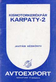 v/o Avtoexport. Kismotorkerekpar Karpaty-2.