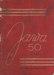 Povazske strojarne n. p. Lahky oskutrovany motocykel JAWA 50 typ 05.