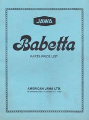 JAWA Babetta Moped.