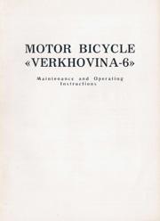 Motor Bicycle Verkhovina-6.