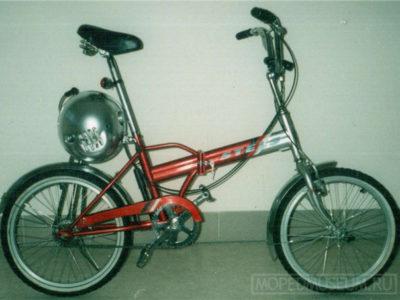 Самодельный велодвигатель «Шарик»