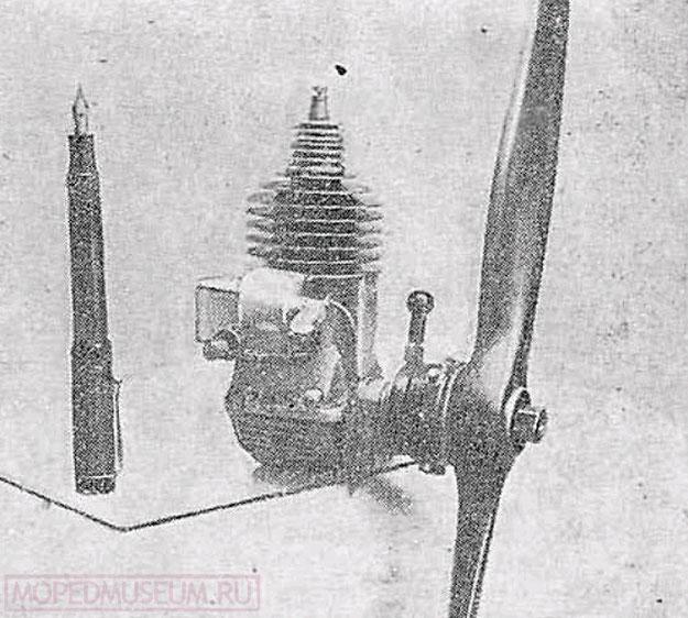 Новый советский малолитражный двигатель