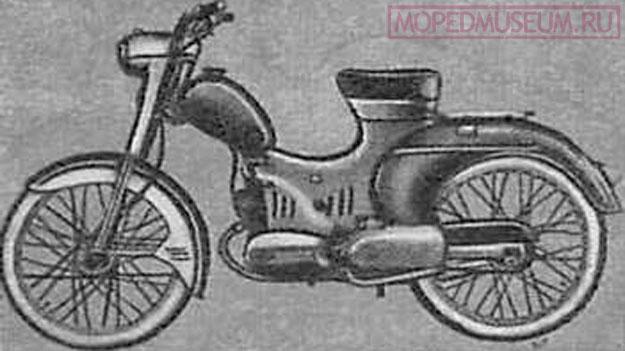 Польский мопед