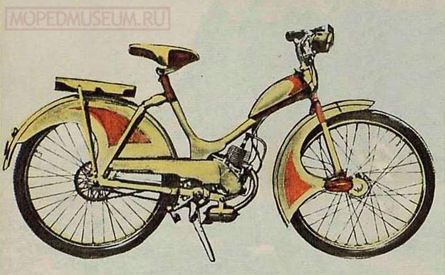 Львовские мотовелосипеды