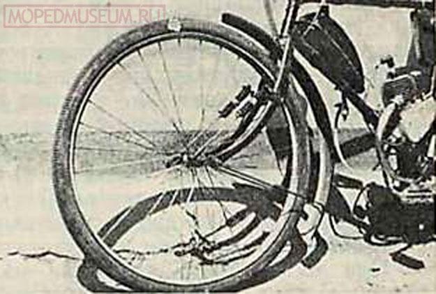 Амортизатор для мотовелосипеда