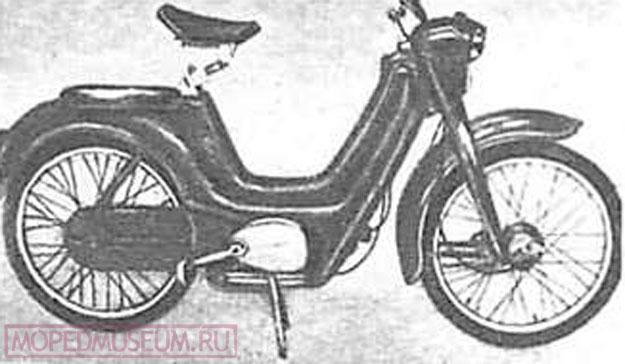 Мопед Яветта