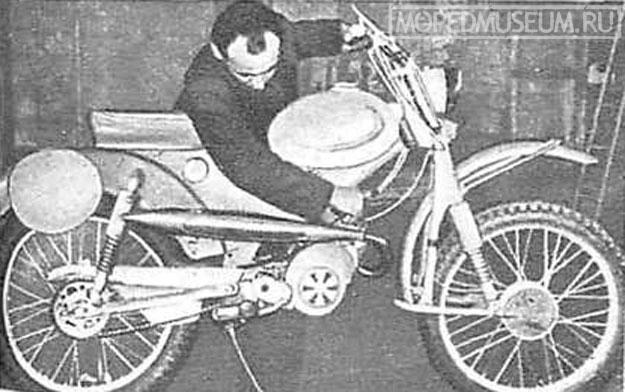 Малолитражный кроссовый мотоцикл