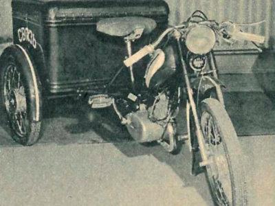 Грузовой мопед МГ-1 (1962-1963)