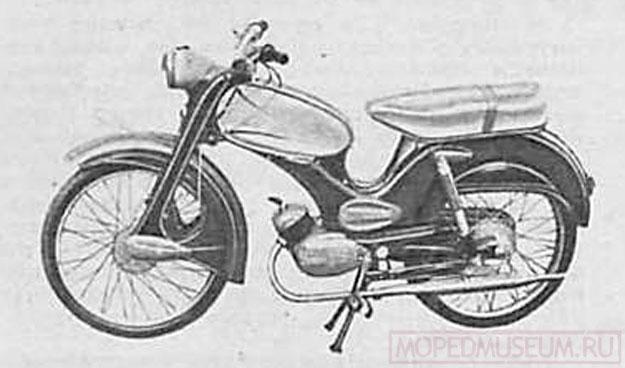 Болгарский мопед Балкан-50