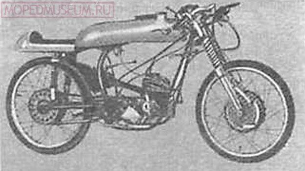 Гоночный мотоцикл MZ модель Re-50