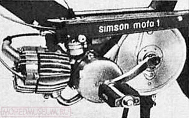 «Симсон с автоматическим сцеплением