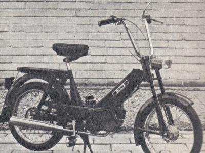 Мопед «Babetta» typ 207 (1975-1983)