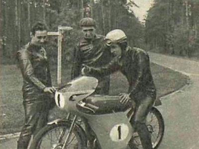 Гоночный микромотоцикл SZ-50 (1964)
